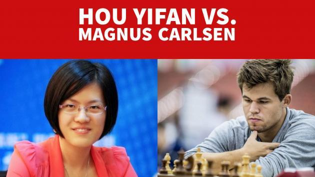 Hou Yifan Vs. Magnus Carlsen Grenke Chess Classic 2017