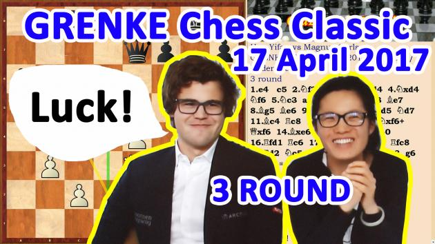 Carlsen could lose Hou Yifan in Round 3 GRENKE Chess Classic!