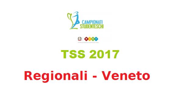 TSS Regionali Veneto 2017 - scuole superiori