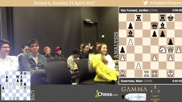 IM Kostya Kavutskiy takes you through the Reykjavik Open Tournament Hall