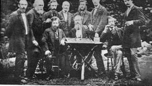 The Gastineau Garden Party 1873. A Chess Photograph.'s Thumbnail