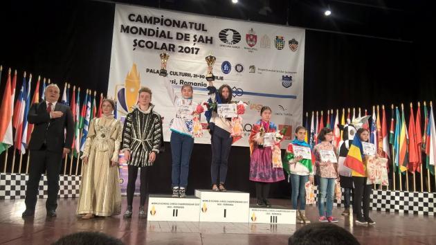 Campionatul Mondial de Șah Școlar... Iași, Romania, 2017