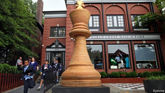 How St Louis became America's chess capital