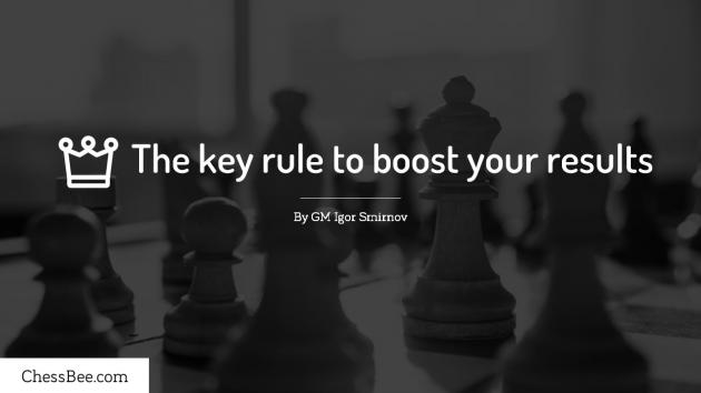 The key rule to boost your results.