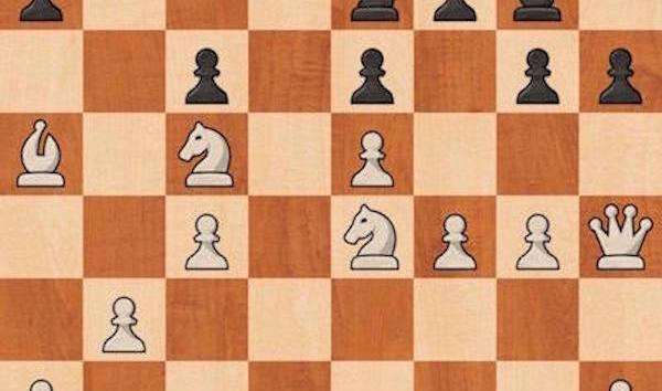 Total domination in Closed Sicilian Defense with white