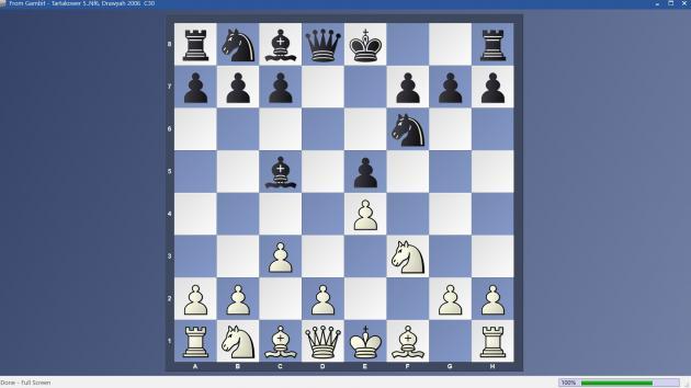 From Gambit - 5..Nf6 Tartakower Variation