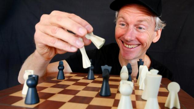 Coastie conjures new form of the ancient game of chess