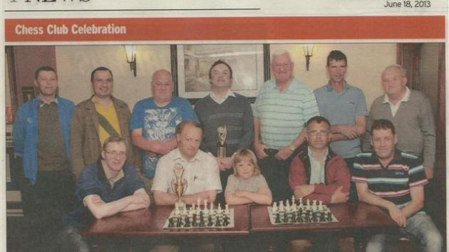 Gorey Chess 2nd. TEAM results 2017
