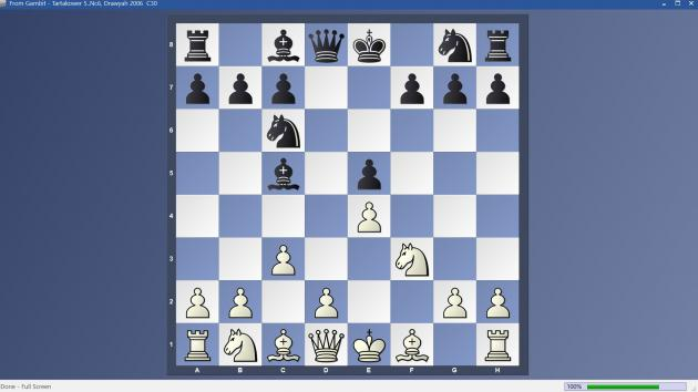 From Gambit - 5..Nc6 Tartakower Variation