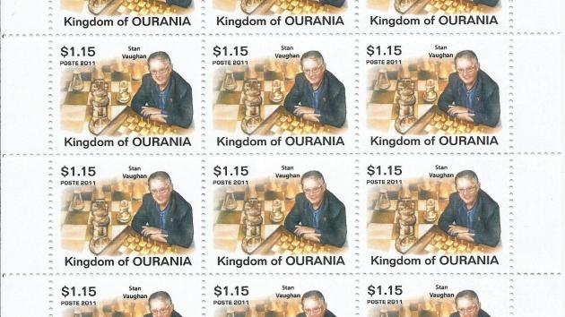 Ourania issues new chess stamp