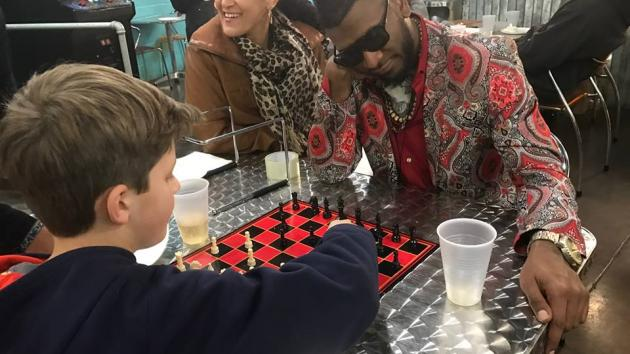 The quiet of chess meets the beat of hip hop