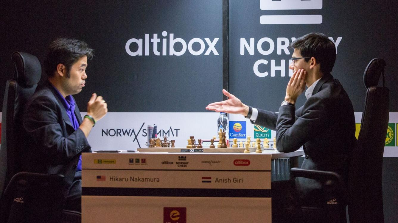 Norway Chess R1: Collecting points with basic skills