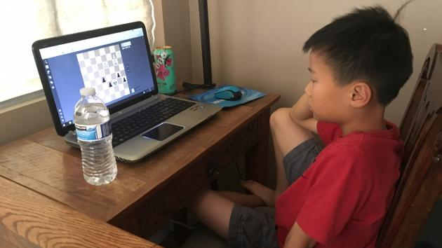 Brian Huang plays in his 2nd CONIC event