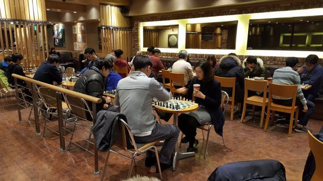 Welcome to the Korea chess club -Let's play chess
