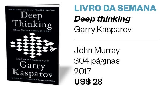 O xadrez de Kasparov e o futuro do trabalho