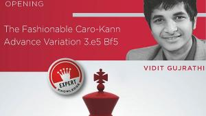 Review - The Fashionable Caro-Kann - Volume 2 by GM G. Vidit, Chessbase 2016's Thumbnail