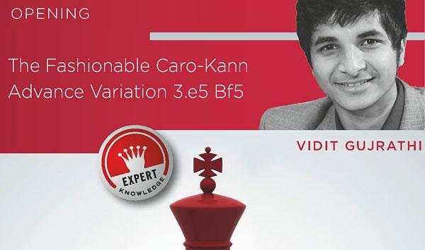 Review - The Fashionable Caro-Kann - Volume 2 by GM G. Vidit, Chessbase 2016