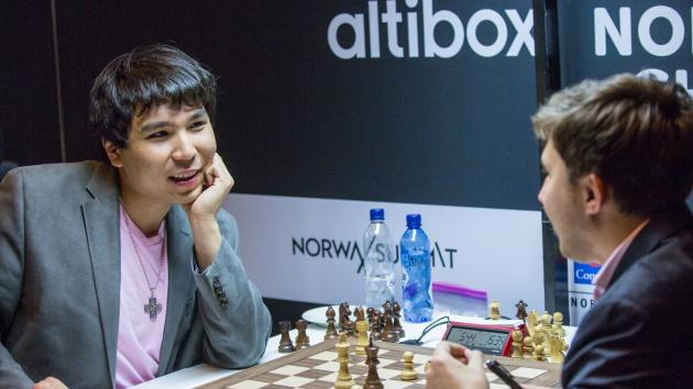 Norway Chess R4: Sergey's sneaky stalemate