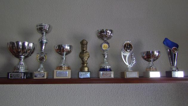 ANGEL: MIS TROFEOS (My trophies)
