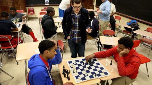 Chess in school keeps learners engaged