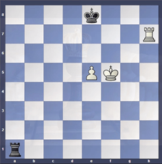 Philidor Position d/e-file(Rook End Game)