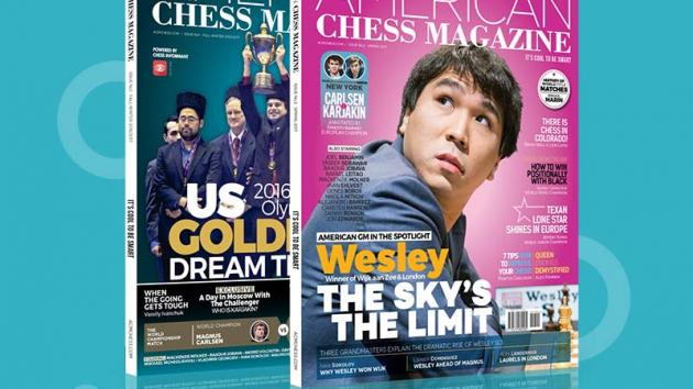 Review - American Chess Magazine (Issue 1)