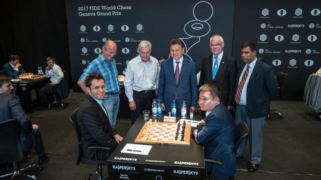3ª etapa do GP da FIDE em Genebra