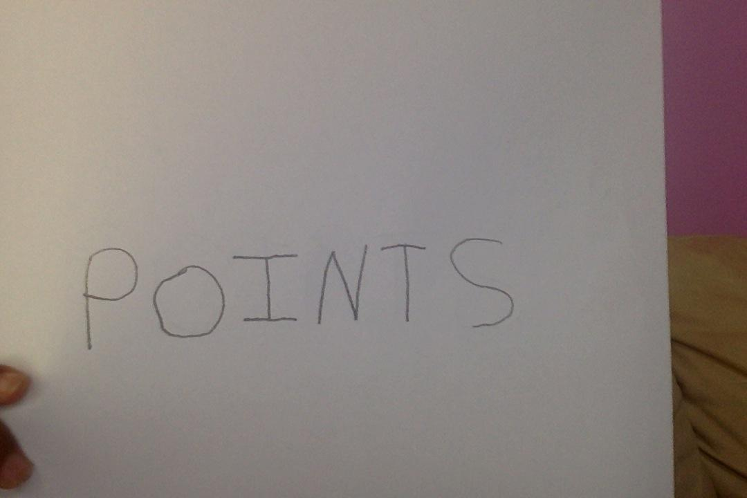All about points.