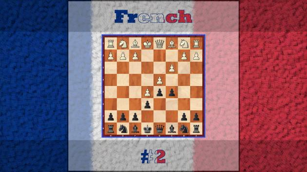 French Defence, Advanced Variation - Black Repertoire 2#