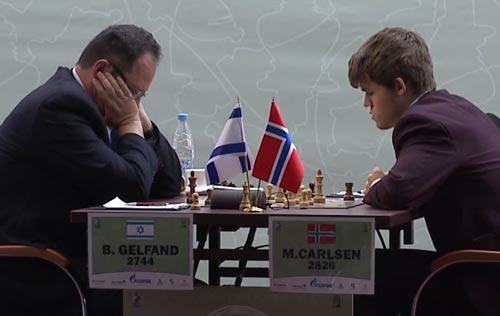 Nivel Intermedio & Avanzado: La coordinación: Carlsen–Gelfand, Tal Memorial 2011