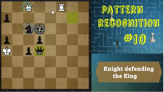 Let the knight defend your king! - Pattern Recognition #10