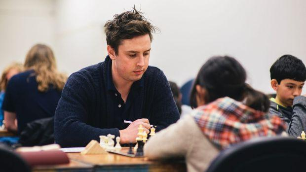 Check mates compete at Australian National University Chess Open