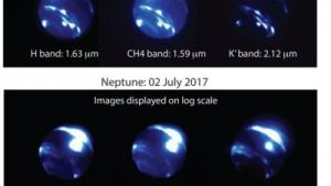 Twilight observations reveal huge storm on Neptune - a storm the size of the earth!'s Thumbnail