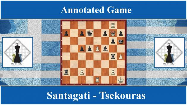 Annotated game : Santagati vs Tsekouras - Greek Team Master League