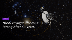NASA Voyager Probes Still Going Strong After 40 Years's Thumbnail