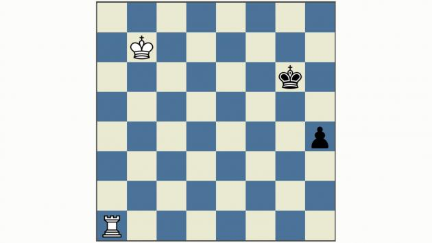 King and Rook VS King and Pawn: Stopping the promotion