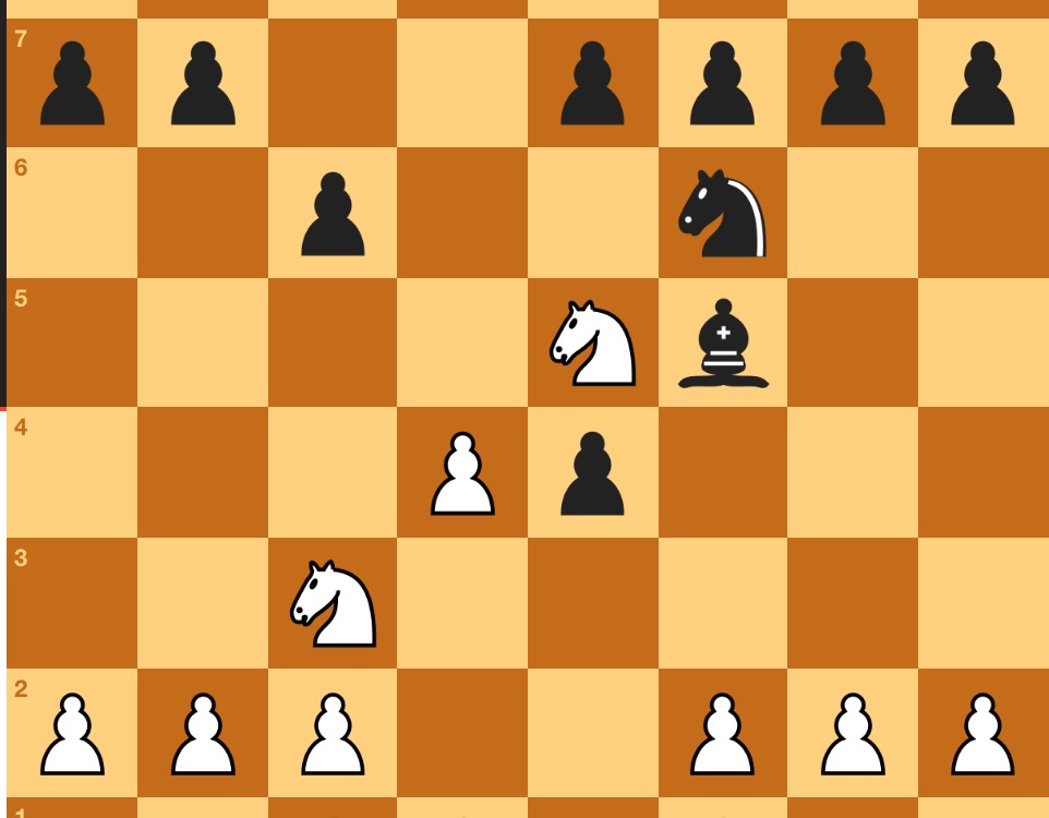 My 3rd round game in the August Slow
