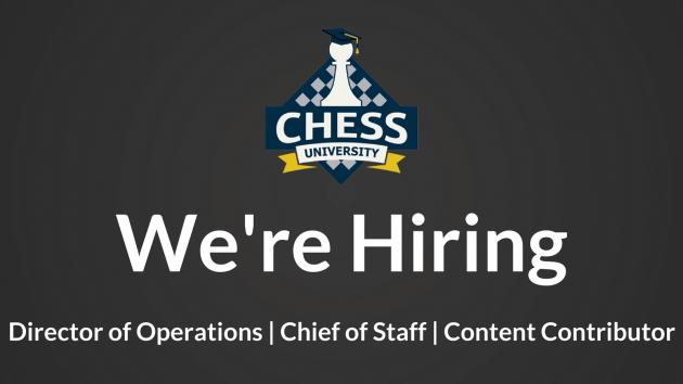 Chess University Hiring + Executive Positions's Thumbnail