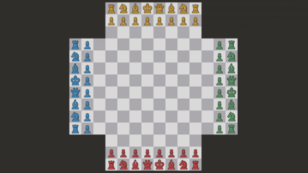 Double Your Pleasure... with Four-Player Chess!