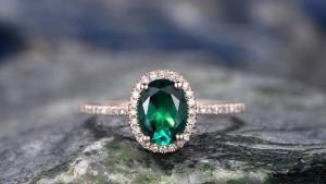 KOKOGEM Unveiled 2017 New Collection of Emerald Rings,Engagement rings under 500's Thumbnail