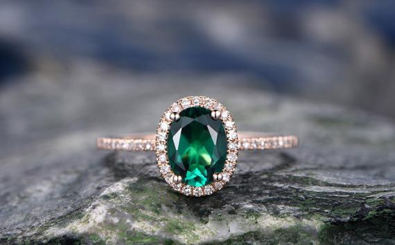 KOKOGEM Unveiled 2017 New Collection of Emerald Rings,Engagement rings under 500