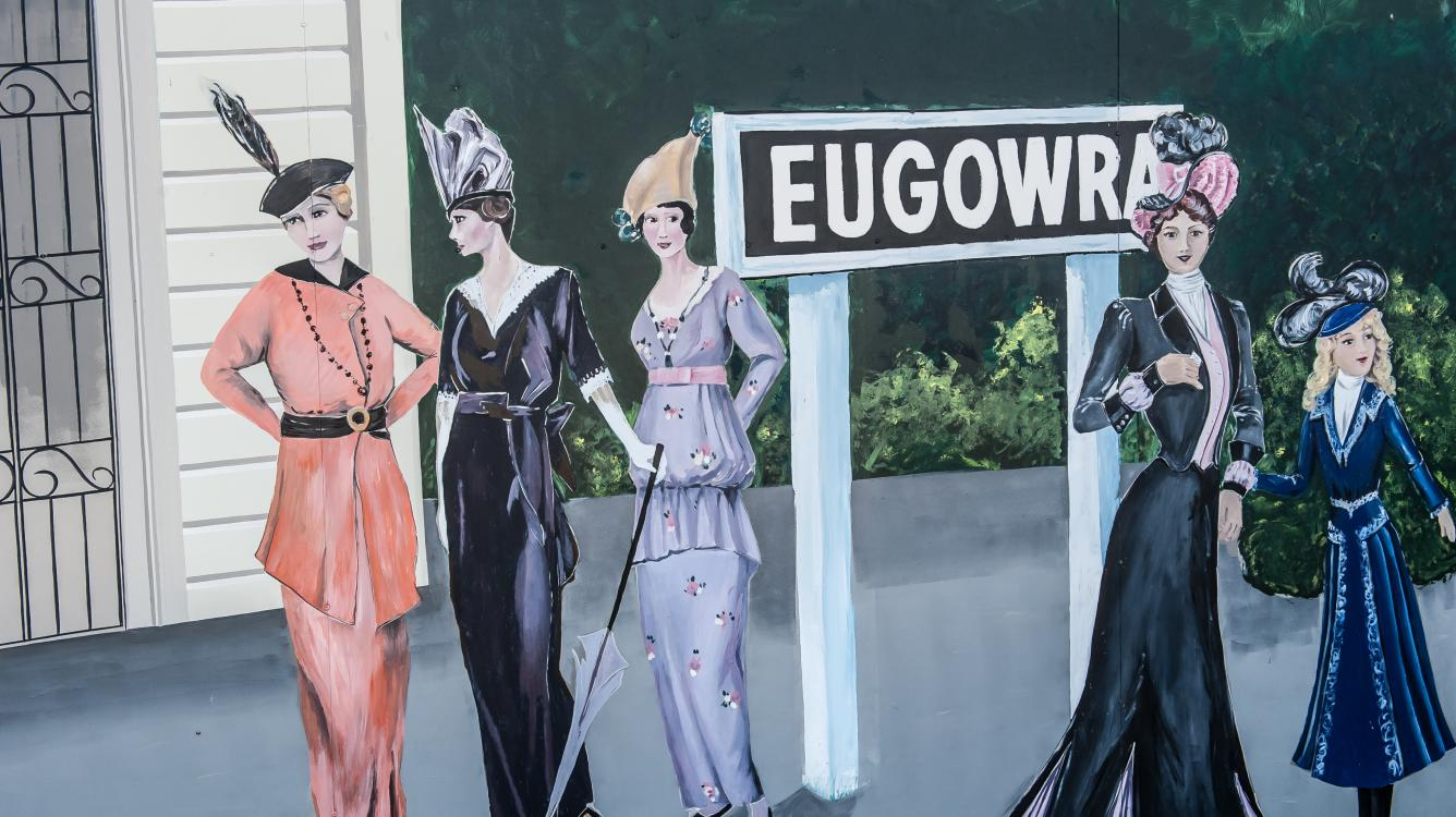 The murals of Eugowra. Check them out on...http://nadpet.blogspot.com.au/
