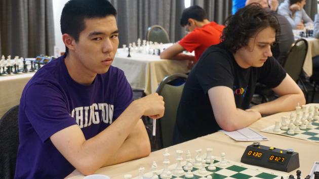 Rookie Master at a Norm Tournament