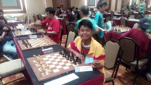 12-year-old Concio Jr wins Malaysia Chess Challenge