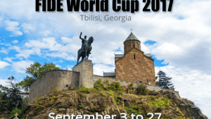 Before the tie-break of the first round at the FIDE 2017 World Cup in Tbilisi's Thumbnail