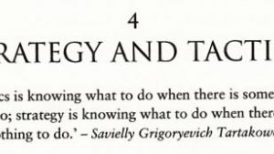 Nimzowitsch, Tarrasch, and Tartakower - and my other favorite chess quotables!'s Thumbnail