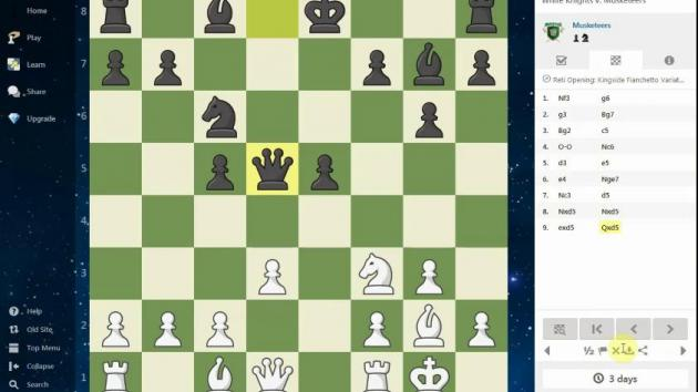 Post Vote Chess moves & comments
