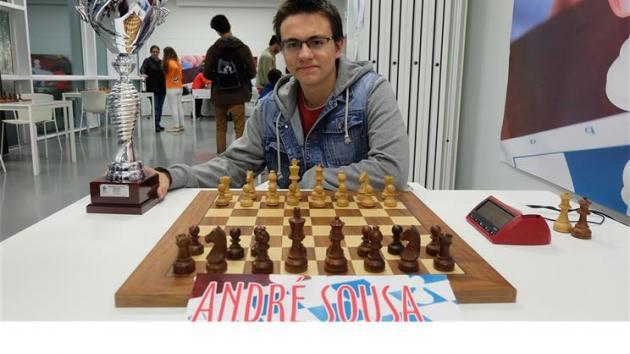 Novo campeão nacional de xadrez é o mais novo de sempre