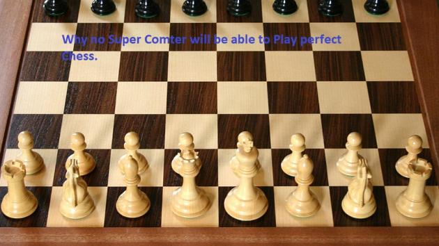 The Computational puzzle of Chess (why Humans will not ever be able to build a computer that can pla