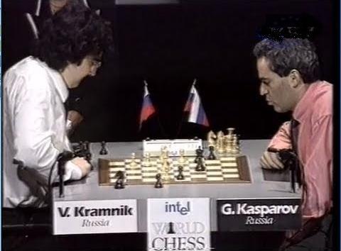 Kasparov Sacrifice his Queen against Kramink